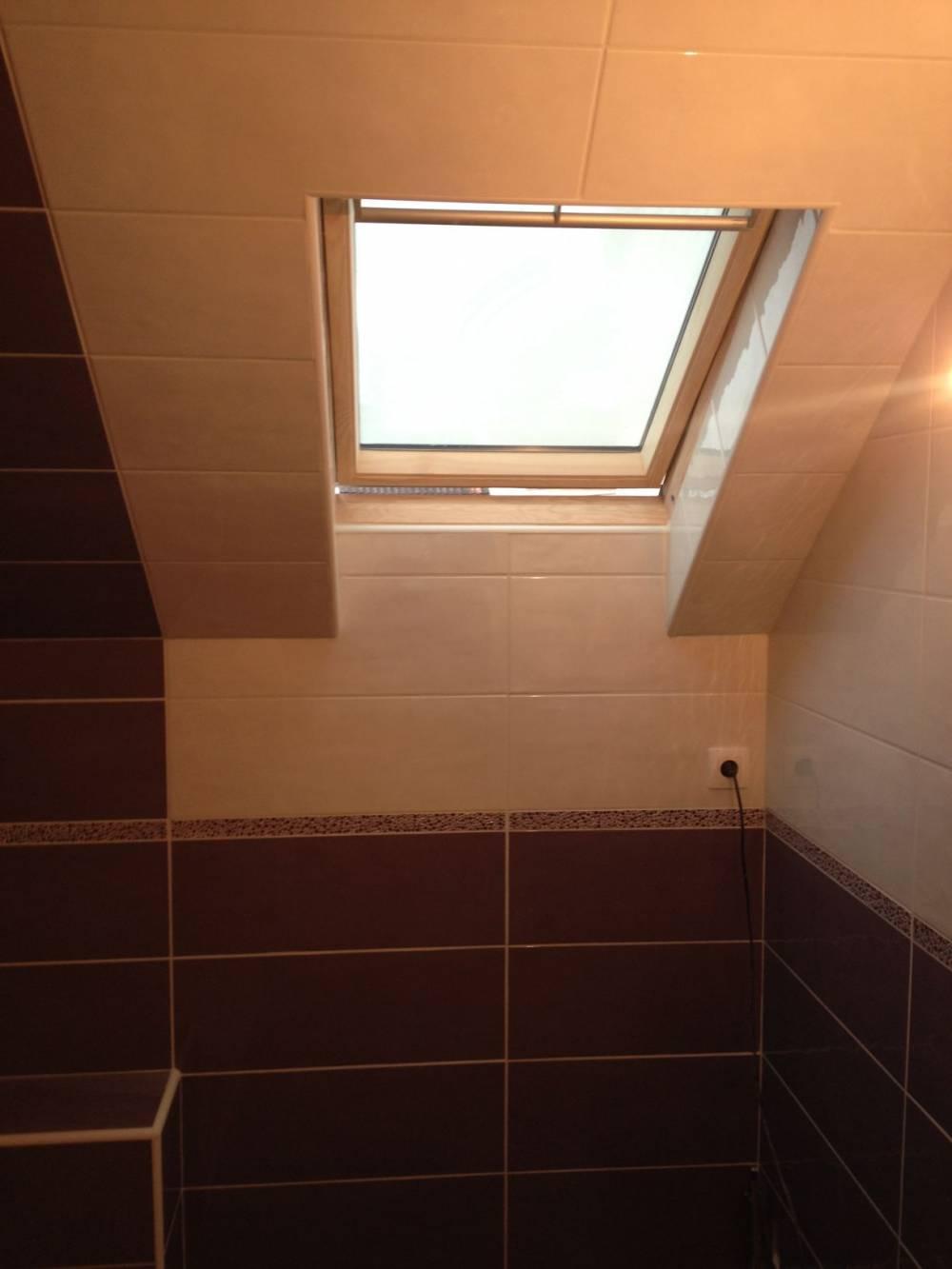 Carrelage intérieur et fenêtre de toit Valenciennes - Carreleur Valenciennes